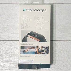 fitbit Accessories - Fitbit charge 3 rose gold special edition
